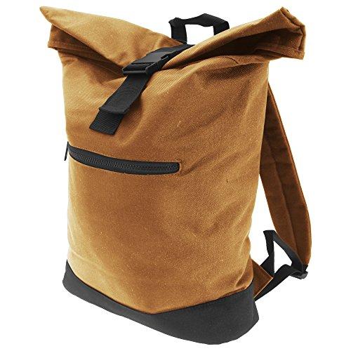 Bagbase Roll-Top Backpack / Rucksack / Bag (12 Litres) (One Size) (Caramel)