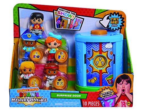 Pocket Watch Ryans World Ryans Mystery Playdate Surprise Door Playset