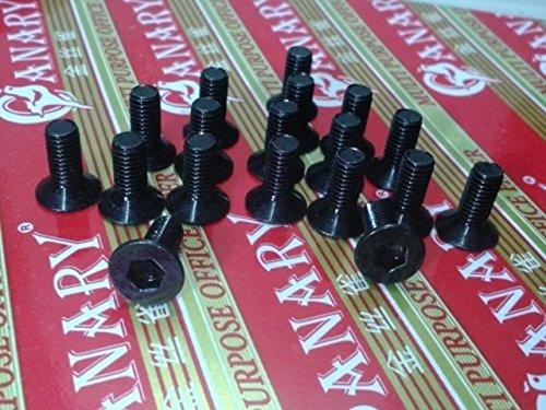 20pcs SPD tacos para tornillos M5* 12.5mm para pedal Shimano, tiempo, material de acero