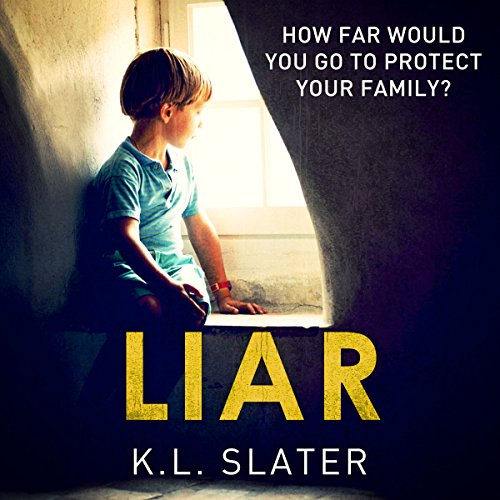 Liar audiobook cover art