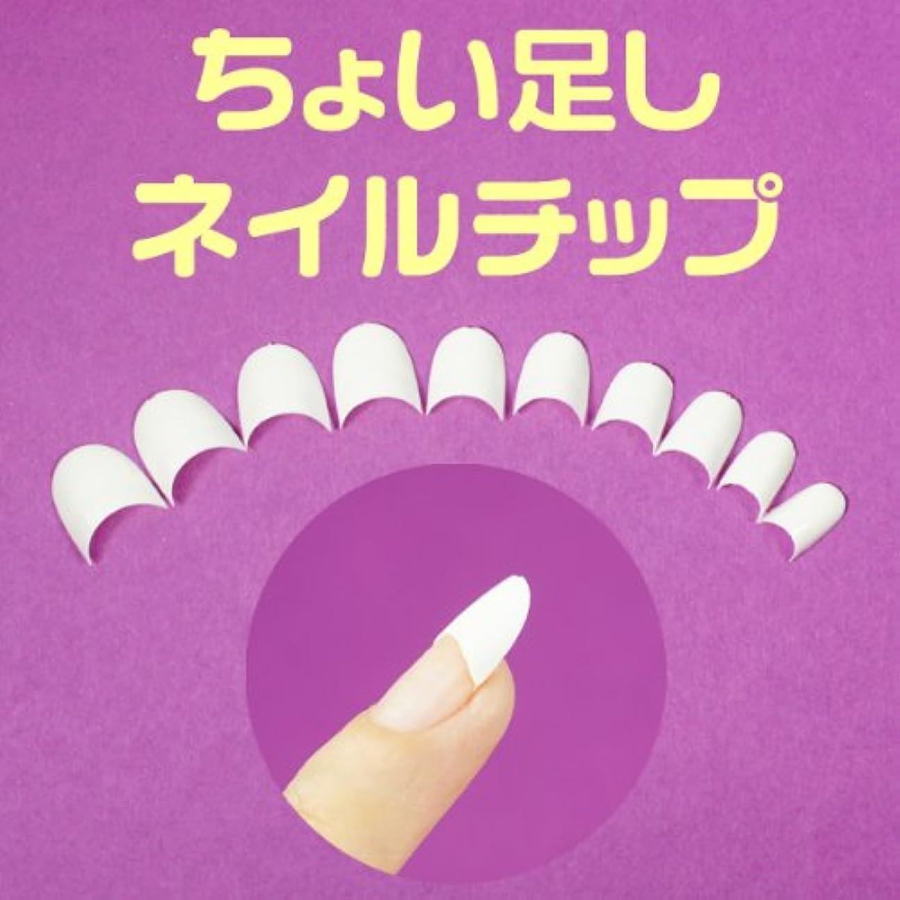 画家提案する偶然の白いちょい足しネイルチップ 超短いハーフチップ スカルプチャー ジェルネイル ラウンドショートクリアネイルチップ つけ爪付け爪