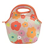 BUILT Gourmet Getaway Lunch Tote, One Size, Bright Flower