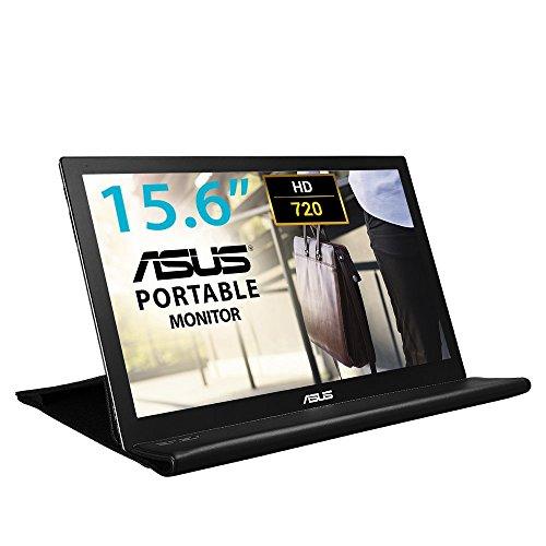 ASUS MB168B 15.6 Inch Portable USB Monitor, 1366 x 768, TN (Refurbished)