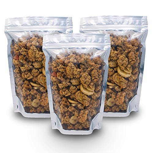150 Pcs Resealable Mylar Bags 6x9 inch - Smell Proof Ziplock and Heat Sealable Bags - Stand Up Food Storage Pouches - Safe Waterproof Packaging Barrier