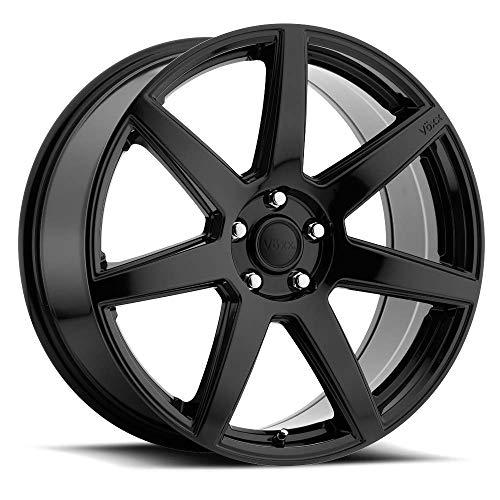 "4 Wheel Rims Vöxx 18"" Inch Divo 18x8 40mm 5x120 Gloss Black"