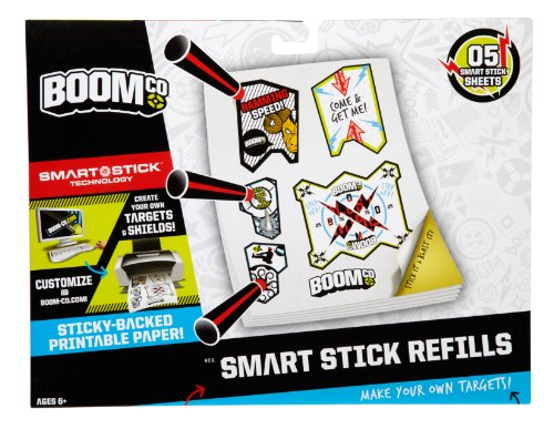BOOMco. Printable Target Stickers