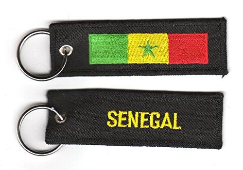 Schlüsselanhänger Senegal Anhänger Fahne Flagge NEU
