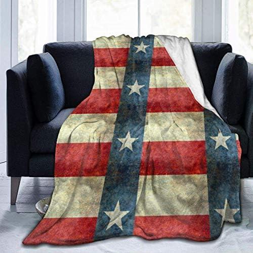 N / A Couverture en Cachemire Douce,Plaid Couverture Polaire,Confortable Blanket pour Sofa,Couvre-Lit Sofa Jeté,Flanelle en Micro Polaire Lone State Flag of The Lone State Texas L