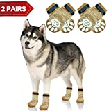 PUPTECK Anti-Slip Dog Socks Pet Paw Protection for Indoor Wear