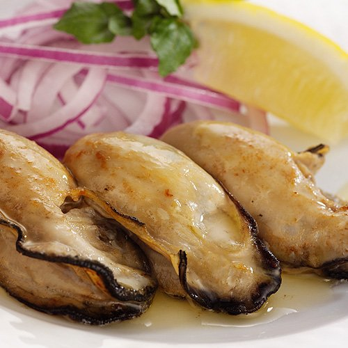 ギフト おのみち発 広島県産(冷凍)牡蠣(かき)カキむき身 特大2L1kg プリザーブドフラワー付