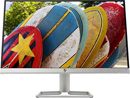 """HP – PC 22fw Monitor 21.5"""" FHD 1920 x 1080 a 60 Hz, IPS, Antiriflesso, Borderless, Tempo risposta 5 ms, AMD FreeSync, Regolazione Inclinazione, Comandi su schermo, Low blue light, VGA, HDMI, Argento"""
