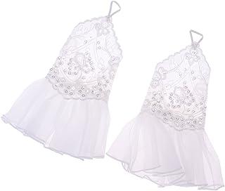 Fenteer 1 Pair Fingerless Bridal Gloves Beads Pearl Wedding Prom Dress Costume Beige