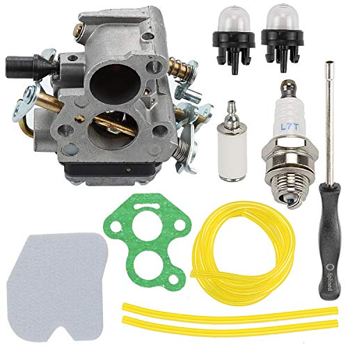 Wellsking 545072601 Carburetor Compatible with 235 235E 236 236E 240 240E Chainsaw Jonsered CS2234 CS2238 CS2234S CS2238S Replace # 574719402 with Tune Up Kits