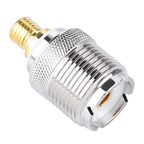 Bewinner coaxiale antenneconnector voor Motorola-portofoons, hoogwaardige / duurzame connector 1 stuk voor Motorola Walkie Talkies, GP328 / GP300 / GP88 / GP340 / GP68 / GP88 / GP88S