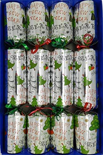 Crackers Ltd Set mit 4 kleinen Spielboxen zum Aufziehen