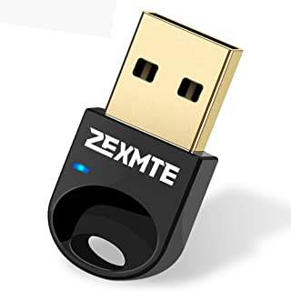 Bluetooth Adapter for PC USB Bluetooth 4.0 Dongle Wireless Micro Adapter Support Laptop Desktop Stereo Headset, Keyboard, ...