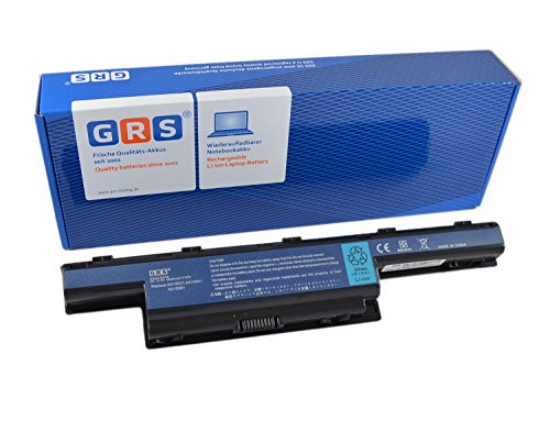 GRS Batteria AS10D51 con 6600mAh Acer Aspire 7741G 5742G 7750G 5741ZG 5733 5560G 5750G 7551G TravelMate 5740 8472 5760 4740 Compatibile: AS10D31 AS10D75 AS10D73 AS10D61 AS10D71 AS10D41
