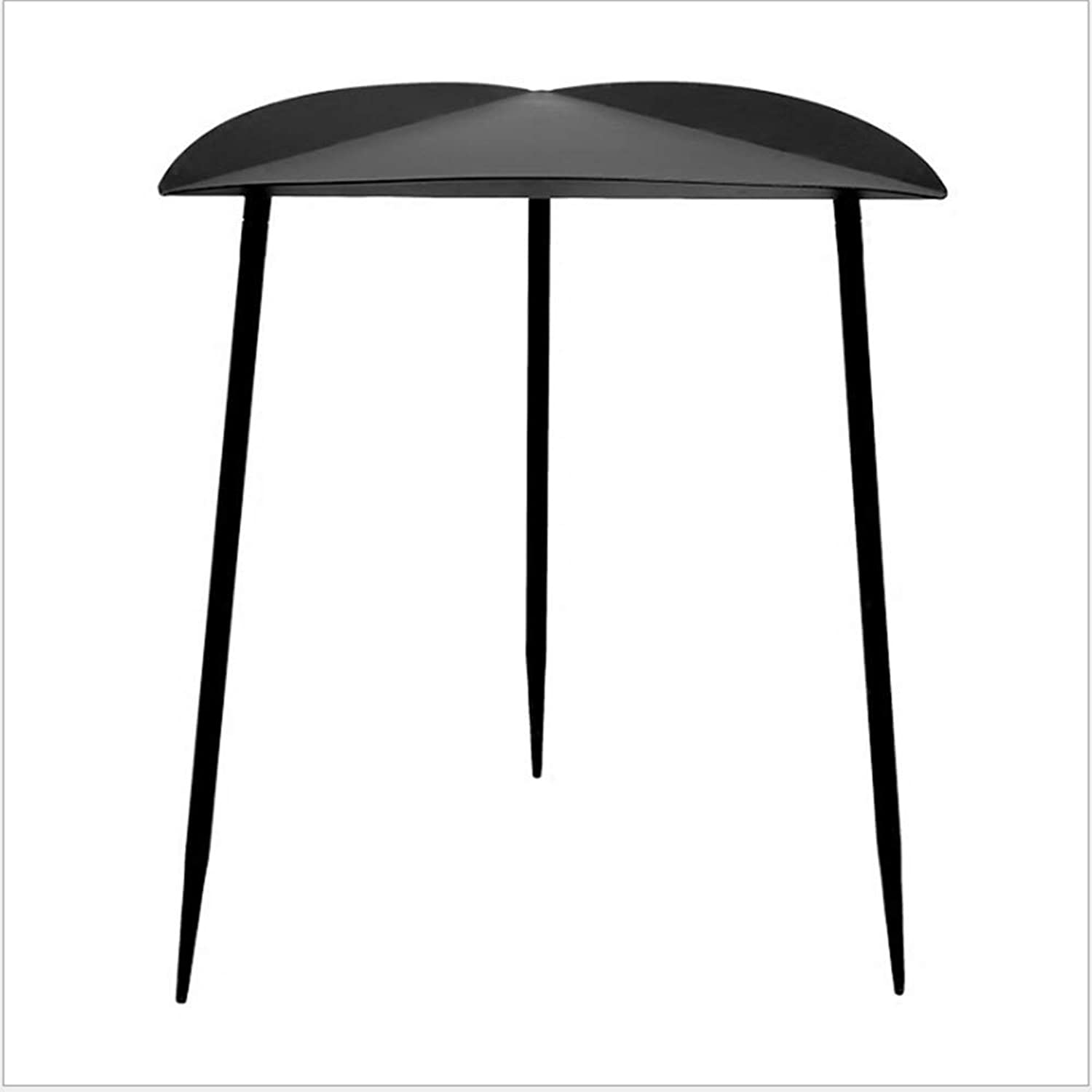 HAIZHEN table Ron Coffee Table, Simple Modern Living Room Sofa Corner A Few for Small Apartment,Black