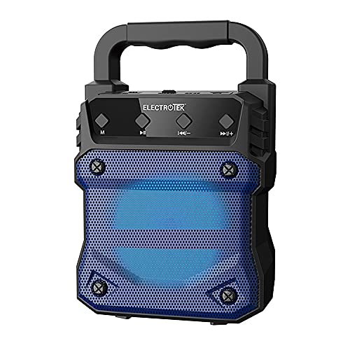 Mini Altavoz Portátil Bluetooth 5.0. Electrotek Et-Psk150-5W