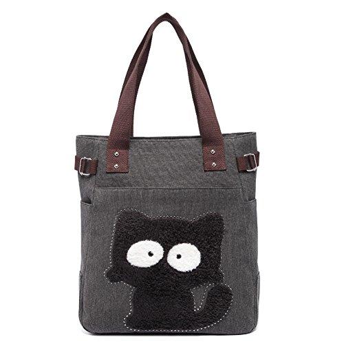 KAUKKO Vintage Reisetasche Handtaschen Schultertasche Shopper Taschen Umhängetasche Damen...