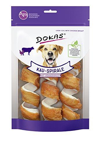 DOKAS Getreidefreier Premium Kausnack für Hunde – Ideal für zwischendurch, 110 g