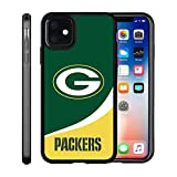 Packers iPhone 11 Case Cover Packers Design Slim Fit Shockproof Anti-Scratch Shell for iPhone 11 6.1 Inches (2019 Release)