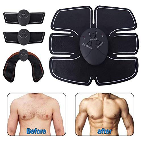 Estimulador Muscular para Mantenerse en Forma, el EMS Estimulador ABS Abdominal cinturón de tonificación Muscular del Brazo Cadera Abdominal Trainer ejercitador Muscular Cuerpo ABS Gym Equipment