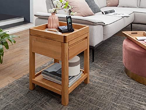 Main Möbel Telefontisch 40x60cm 'Bamberg' Kiefer gebeizt