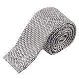 EUCoo Uomo Cravatta lana a maglia Colore solido Tie Più varietà di colori Cravatta di moda
