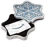 Amazon.de Geschenkkarte in Geschenkbox - 50 EUR (Schneeflocke)