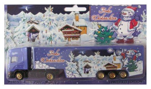 Milka Nr.21 - Frohe Weihnachten - Scania - Sattelzug