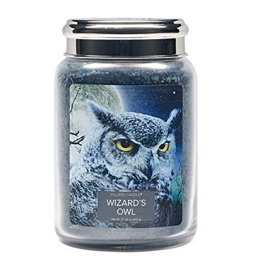 Wizards Owl Jar Candle