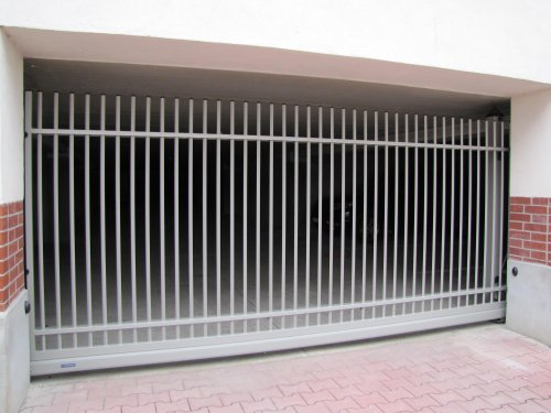 Schiebetor EKO II 3,5x1,2m inkl. Elektroantrieb