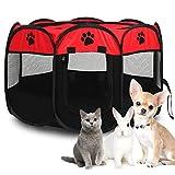 Pet Cat Dog Portable Foldable Crate...