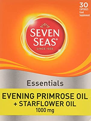 Seven Seas Evening Primrose Once A Day Plus Starflower Oil 1000mg 30 Capsules from Seven Seas