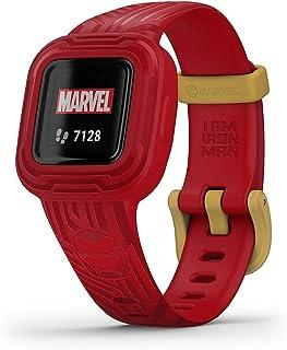 Garmin Vivofit Jr. 3, Kids Fitness/Activity Tracker, Marvel Iron Man