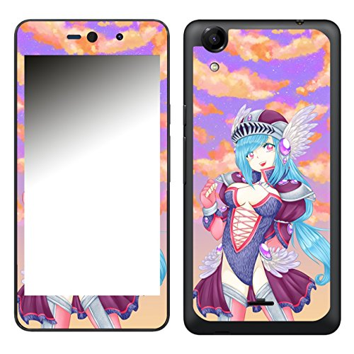 Disagu SF-106581_1009 Design Folie für Wiko Rainbow Up - Motiv Ecchi Girl Fantasy