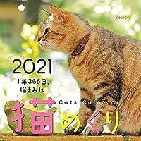 猫めくり 2021年 カレンダー 日めくり
