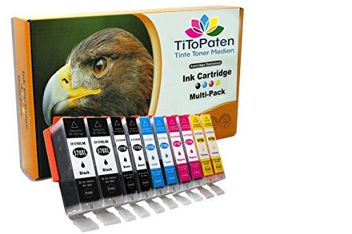 10 x Alternative Druckerpatronen für Canon Pixma MG 5752 & 5753