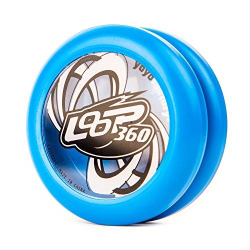 YoyoFactory Loop 360 Yo-Yo - BLAU (Ideal für Anfänger, Moderne Leistung Yoyo, Metall Kugellager, Schnur und Anleitung Enthalten)