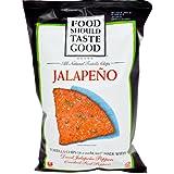 Food Should Taste Good, All Natural Tortilla Chips, Jalapeno, 5.5 oz (156 g) (2 Unit Pack )