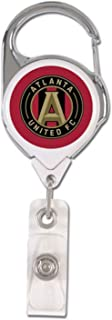 MLS Atlanta United FC Premium Badge Reel Id Holder, 2 Sided Domed Graphics
