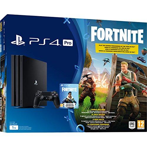 PS4 Pro + Fortnite Voucher