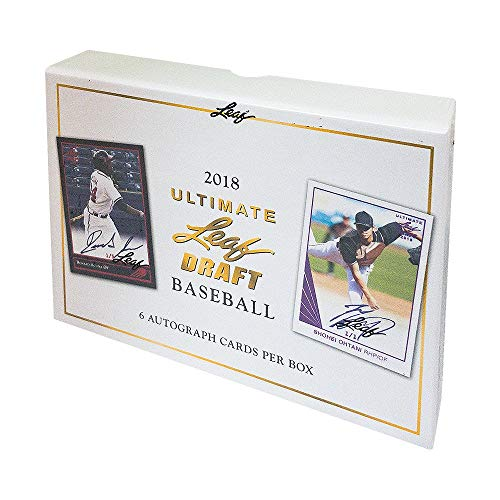 2018 Leaf Ultimate Baseball Hobby Box