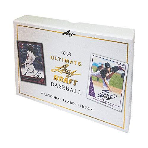 2018 Leaf Ultimate Baseball Hobby Box