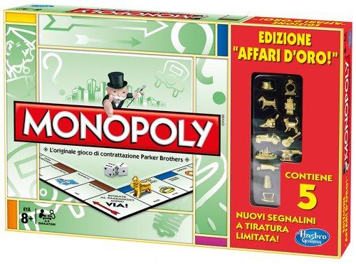 Hasbro Monopoly Edizione Limitata (Affari d'Oro)