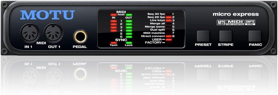 Motu Micro Express Challenge the lowest price 4x6 5% OFF MIDI Interface USB