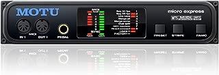 Motu Micro Express 4x6 USB MIDI Interface