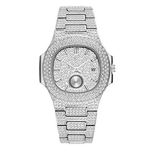 Souljewelry Reloj de Cuarzo con Fecha y Segundero Separado para Hombre Estilo...