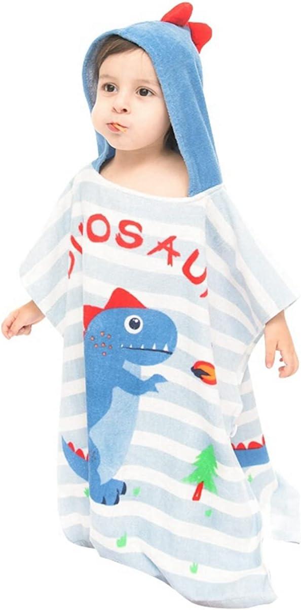 Baby Bath Towel  Cotton Beach Towel Cartoon Characte (Little Dinosaur)
